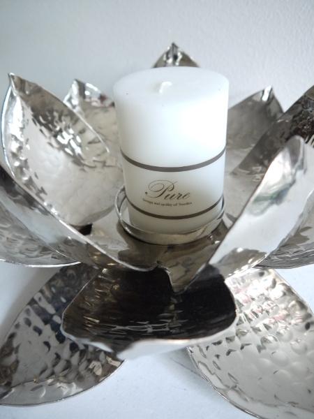 Lotuslykta-till-blockljus-i-silver-2