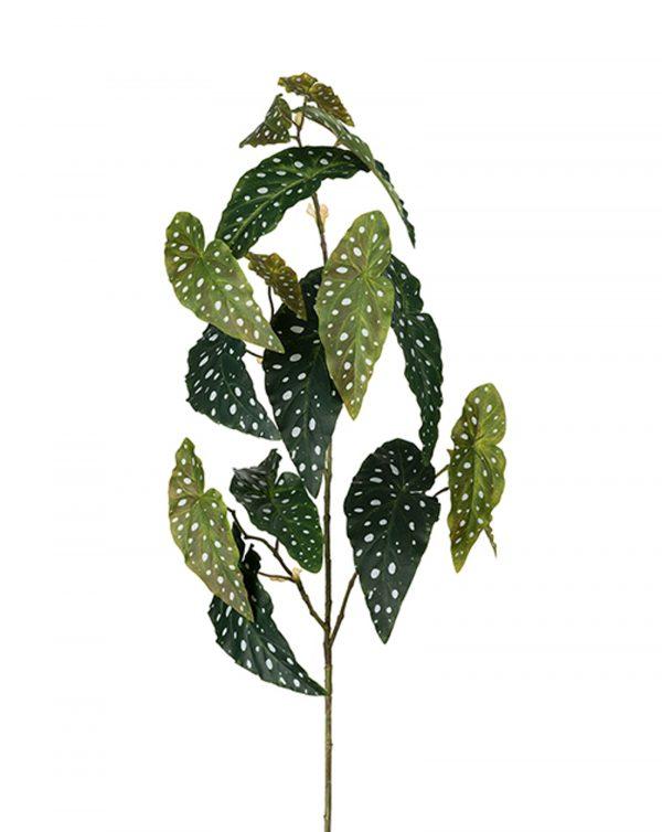 Konstgjord-forell-begonia-gron-kvist