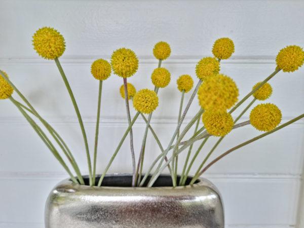 Konstgjord-gul-craspedia-blomma-1