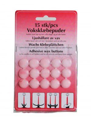 Ljushållare av vax. Besök Blickfång.se