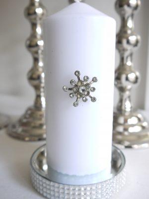 Ljussmycke liten kristall