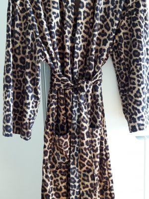 Kimono leopard print
