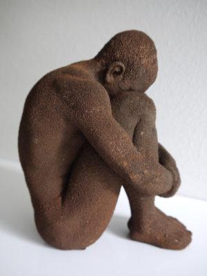 Man staty rost. Besök Blickfång.se