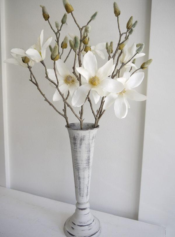 Konstgjord-vit-magnolia-pa-stjalk