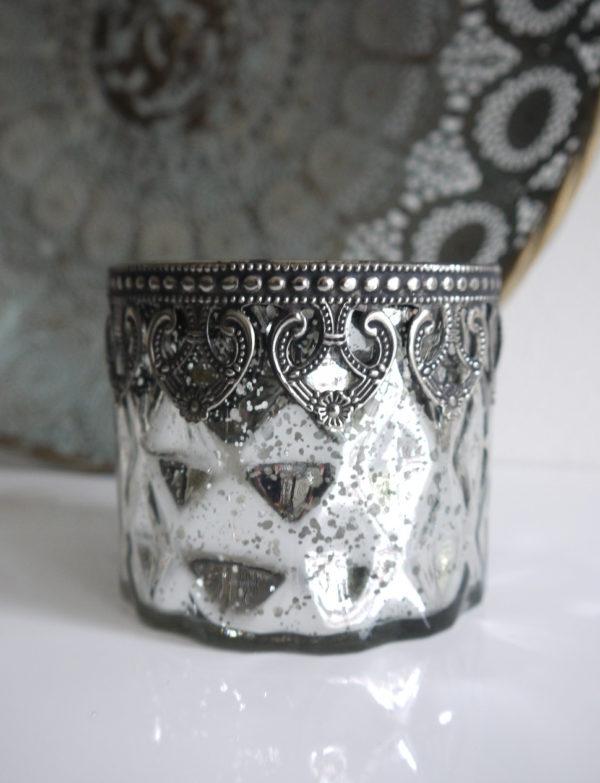 Ljuslykta-silver-shabby-chic