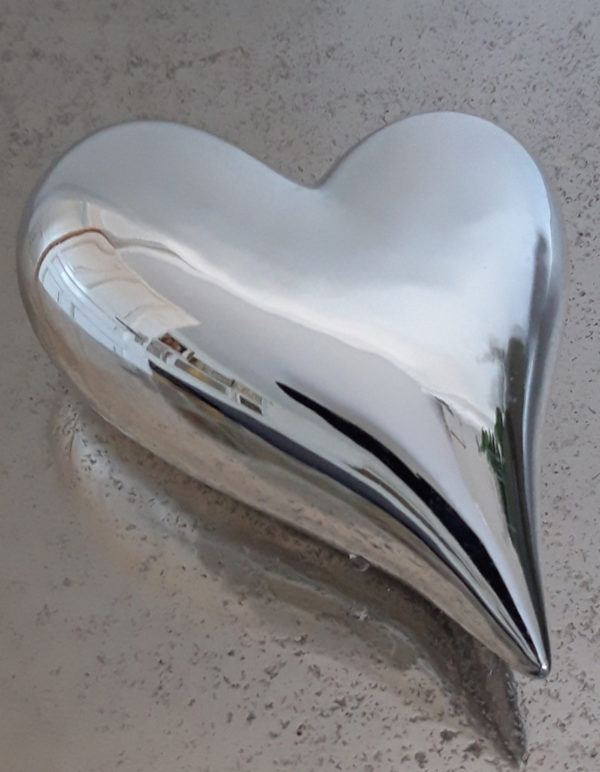Hjarta-i-silver-som-dekoration