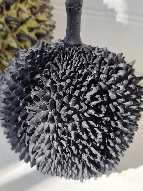 Durian-svart-dekorationsfrukt-1
