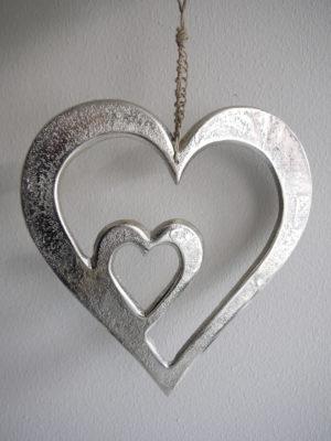 Hänghjärta ruff silver. Besök Blickfång.se