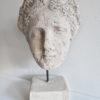 Huvud i rustik design som prydnad. Besök Blickfång.se