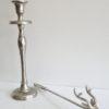 Ljussläckare silver hjort. Besök Blickfång.se