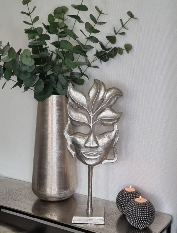 dekoration-mask-i-silver