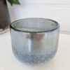Ljuslykta-blå-silver-glittrig-1