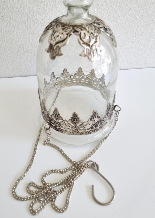 Ampel-i-glas-och-silver-1