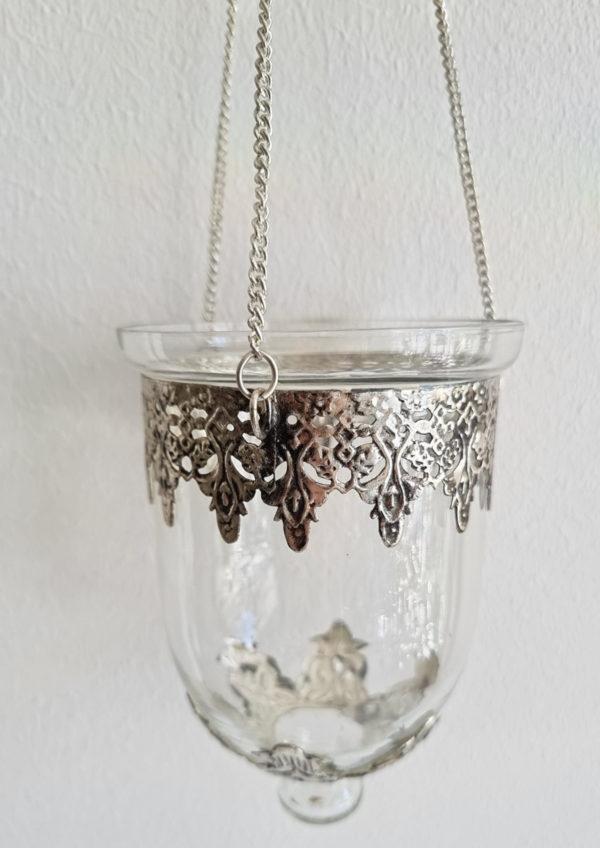 Ampel-i-glas-och-silver