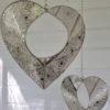 Hanghjärta i silver. Besök Blickfång.se