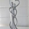 Kärleksfigur silver man kvinna. Besök Blickfång.se