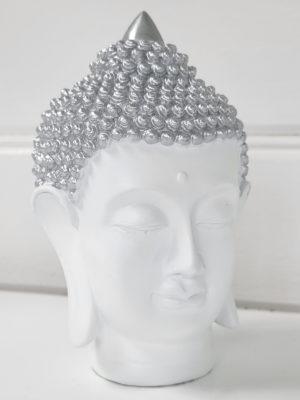 Thai buddha vitt ansikte. Besök blickfång.se