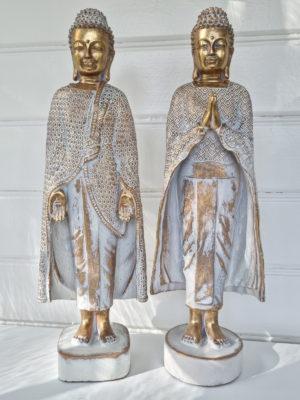 Buddha stående figur för dekoration. Besök Blickfång.se