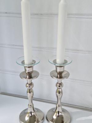 Ljusmanschett i glas diameter 7 cm. Besök Blickfång.se